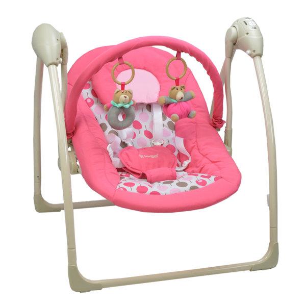 Bebe Stars Музикална люлка-шезлонг Swing Pink 005-185